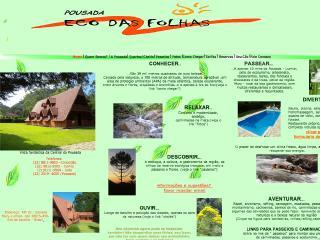 Thumbnail do site Pousada Eco das Folhas