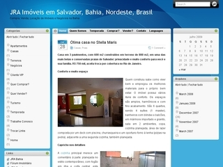 Thumbnail do site JR&A Corretores Associados