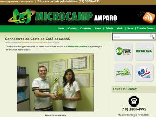 Thumbnail do site Microcamp Amparo