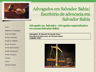Thumbnail do site  Escritorio de Advocacia Marcelo Fernandez Urani