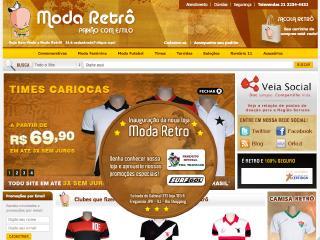 Thumbnail do site Moda Rêtro - Paixão com Estilo