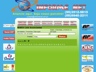 Thumbnail do site Informe Net