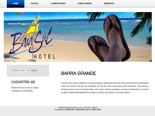 Thumbnail do site Baia Sul Hotel