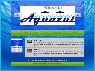 Thumbnail do site Pousada Aguazul