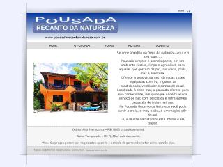 Thumbnail do site Pousada Recanto da Natureza