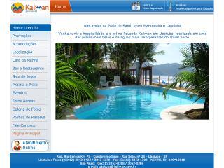 Thumbnail do site Pousada Kaliman