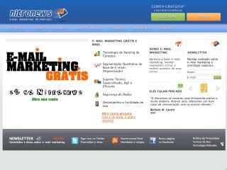 Thumbnail do site Email Marketing - Nitronews
