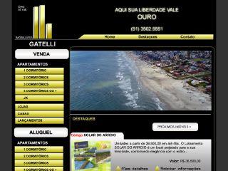 Thumbnail do site Gatelli Imóveis