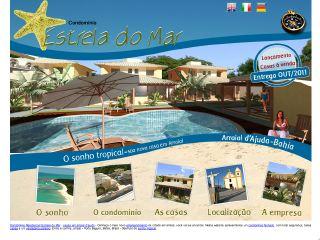 Thumbnail do site Condomínio Estrela do Mar