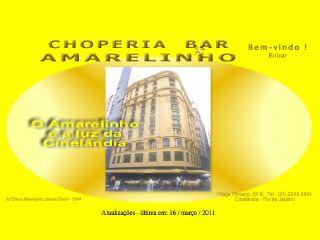 Thumbnail do site Choperia Bar Amarelinho