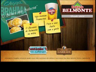 Thumbnail do site Boteco Belmonte