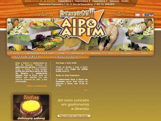 Thumbnail do site Restaurante Aipo & Aipim