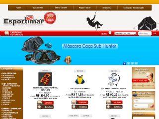 Thumbnail do site Esportimar