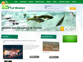 Thumbnail do site Portal MT Turismo