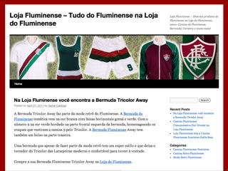 Thumbnail do site Loja Fluminense