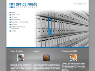 Thumbnail do site Office Prime Consultoria