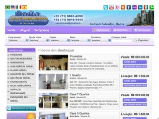 Thumbnail do site Carlos H. Baggi Guimarães - Imóveis em Salvador