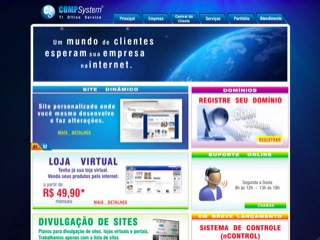 Thumbnail do site COMPSystem - Ti Office Service