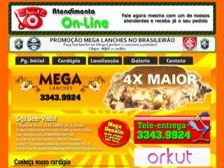 Thumbnail do site MegaLanches