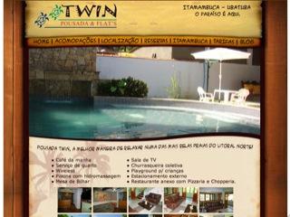 Thumbnail do site Pousada Twin