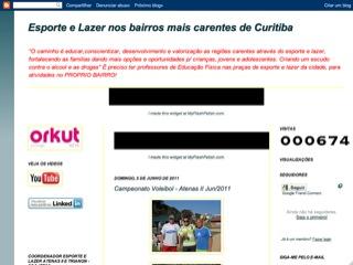 Thumbnail do site Esporte e Lazer em Curitiba