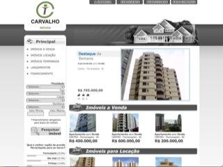 Thumbnail do site Carvalho Imóveis