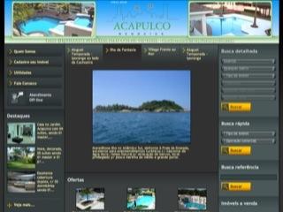 Thumbnail do site Acapulco Negócios