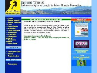 Thumbnail do site Edtrilha Informações Turísticas, Passeios e Trilha