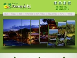 Thumbnail do site Pousada Descanso do Rei - Praia do Rosa
