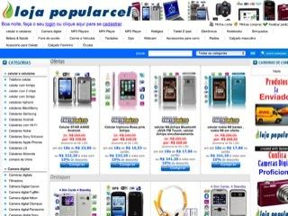 Thumbnail do site Loja popularcel