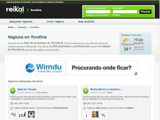 Thumbnail do site Reikal - Lista empresas