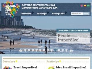 Thumbnail do site Brasil Imperdível