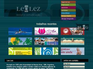 Thumbnail do site Leo Lez - Design e Comunicação