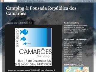 Thumbnail do site Camping & Pousada República dos Camarões