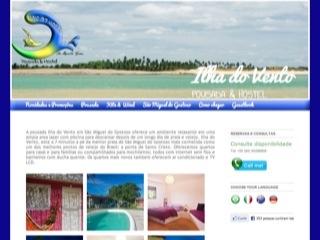 Thumbnail do site Pousada Ilha do Vento