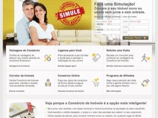 Thumbnail do site  Consórcio de Imóveis