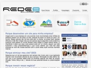 Thumbnail do site Rede 8 - Soluções Web