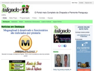 Thumbnail do site Italigado Web Radio