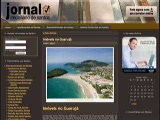 Thumbnail do site Jornal Imobiliário