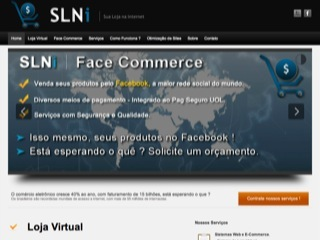 Thumbnail do site SLNi - Sua Loja na Internet