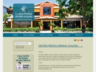 Thumbnail do site Centro Médico Arraial d