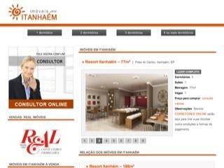 Thumbnail do site Apartamentos em Itanhaém