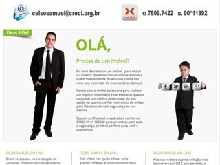 Thumbnail do site Celso Samuel Imóveis