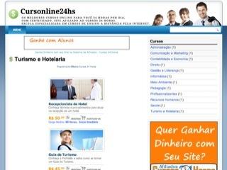 Thumbnail do site cursonline24hs