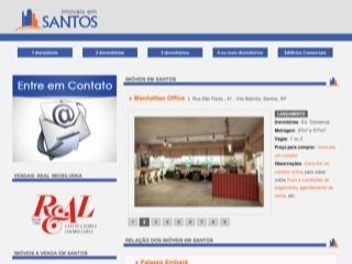 Thumbnail do site Imóveis em Santos