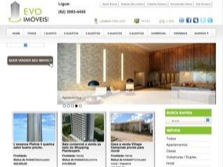 Thumbnail do site Evo Imóveis