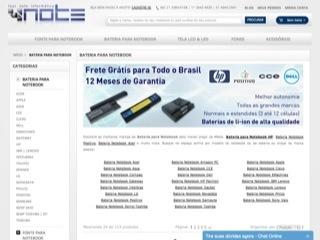 Thumbnail do site Four note informática - Bateria para Notebook