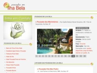 Thumbnail do site Pousadas em Ilhabela