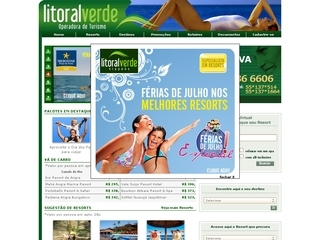 Thumbnail do site Central de Reservas Litoral Verde
