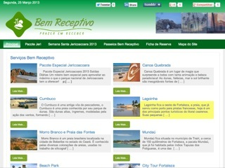 Thumbnail do site Bem Receptivo